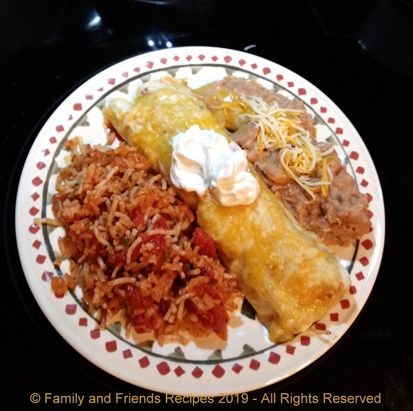 Cassie's Chicken Enchiladas