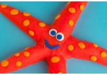 photo of playdough starfish