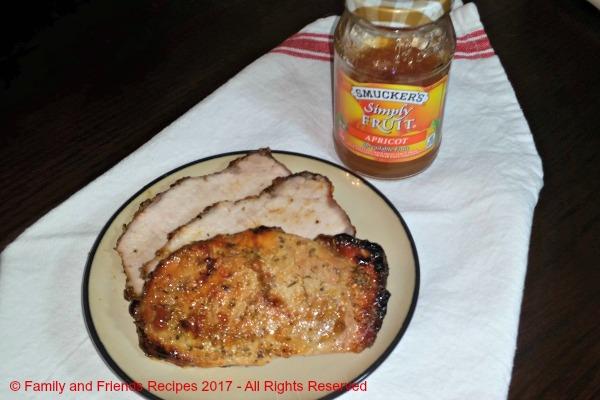 Simply Roasted Pork Loin Roast With Apricot Glaze
