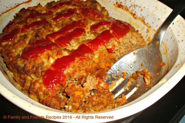 Meat Loaf with Sweet and Sour Sauce