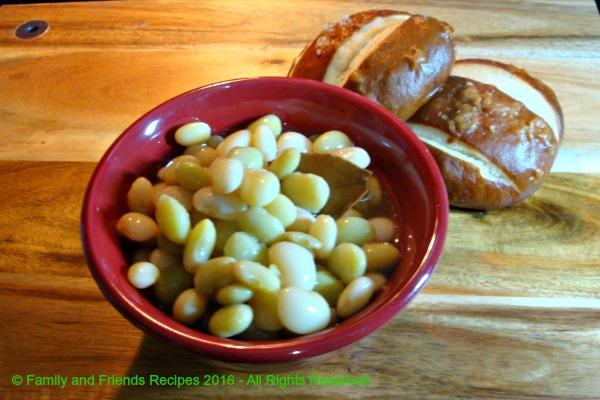 Seasoned Butter Peas
