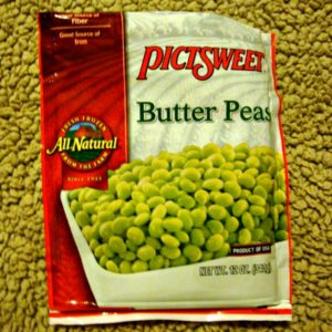 butter peas package photo
