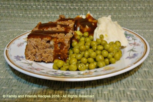 Herbed Stuffing Meatloaf