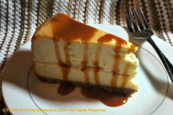 Classic Philadelphia Cheesecake