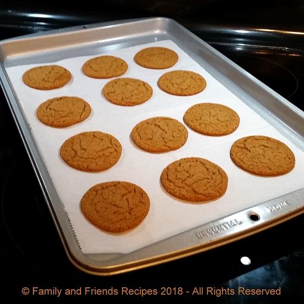 Jean's Gingersnap Cookies