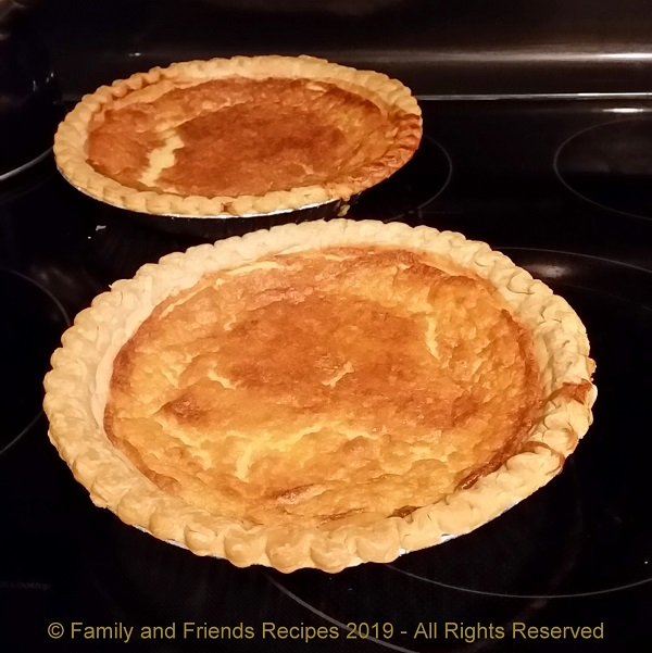 Robbie's Buttermilk Pie