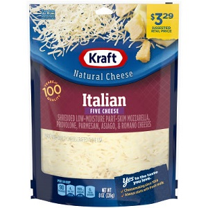 Italian 5 cheese mix photo