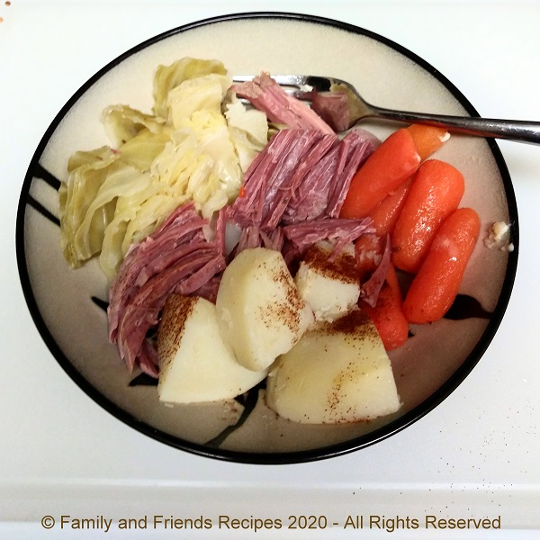 Old Fashioned Corned Beef and Vegetables