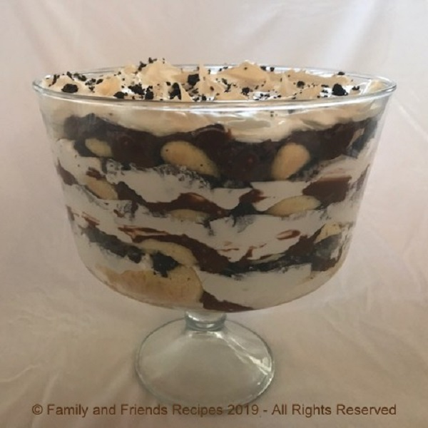 Oreos Cookies and Cream Trifle