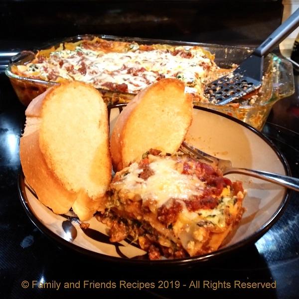 Billie Jean's Lasagna