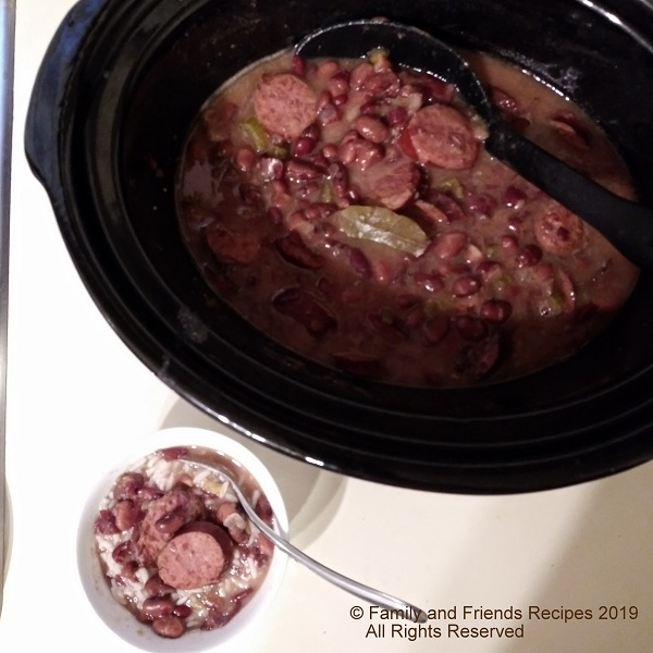 Crock Pot Red Beans